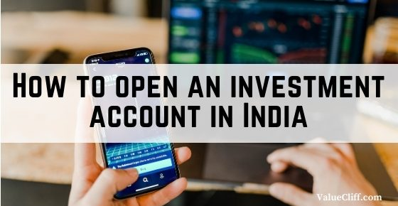 How to open an investment account in India
